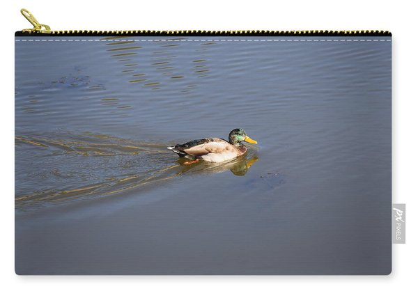 Mallard Duck Burgess Res Co Carry-all Pouch