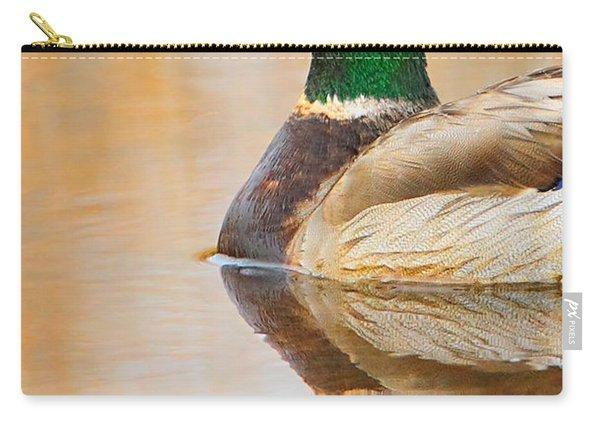 Mallard Mirror Carry-all Pouch