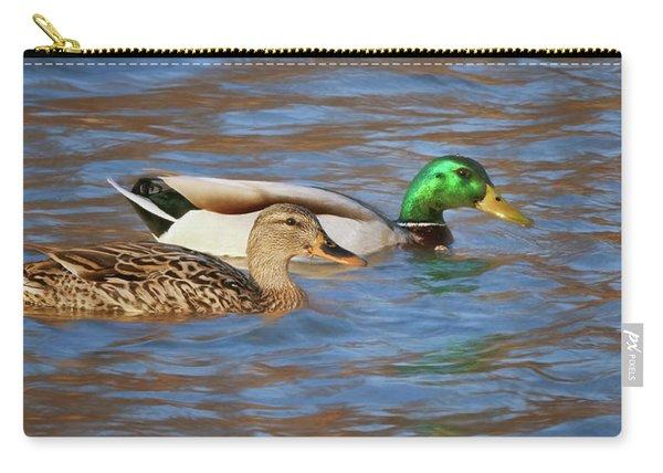 Mallard Pair Carry-all Pouch
