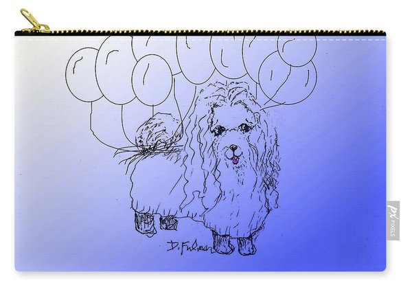 Maltese Carry-all Pouch