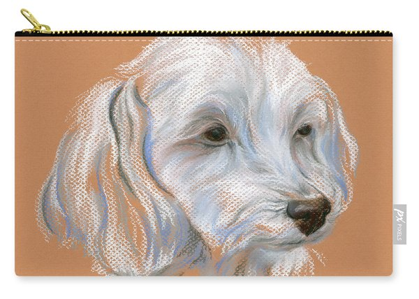 Maltipoo Portrait Carry-all Pouch