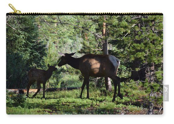 Elk Calf - Mother Rmnp Co Carry-all Pouch