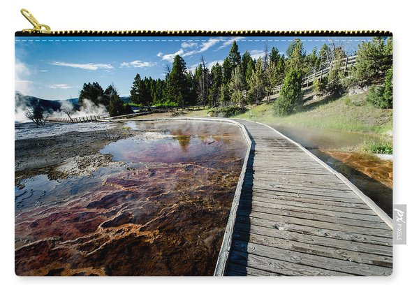 Mammoth Hot Springs Boardwalk Carry-all Pouch