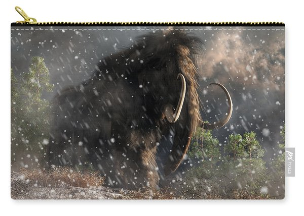 Mammoth In A Blizzard Carry-all Pouch
