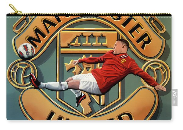 Manchester United Painting Carry-all Pouch