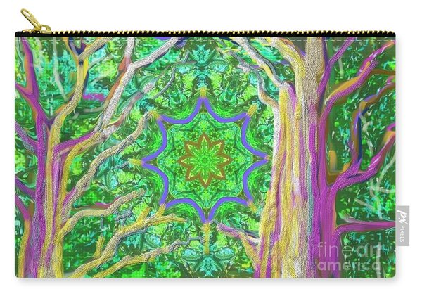 Mandala Forest Carry-all Pouch