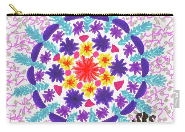 Mandala Magic Carry-all Pouch