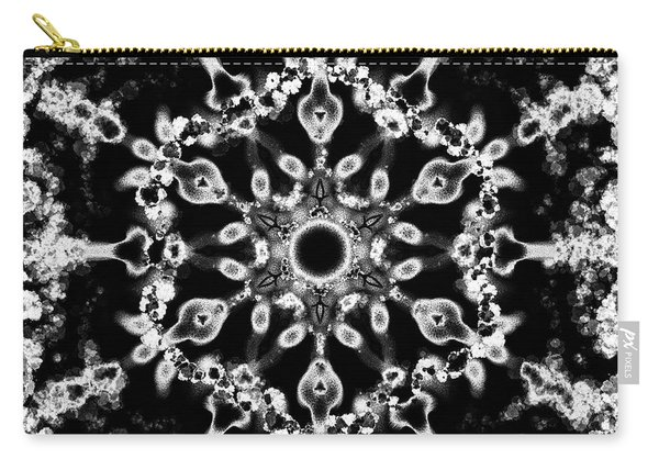 Mandala Silver 2 Carry-all Pouch