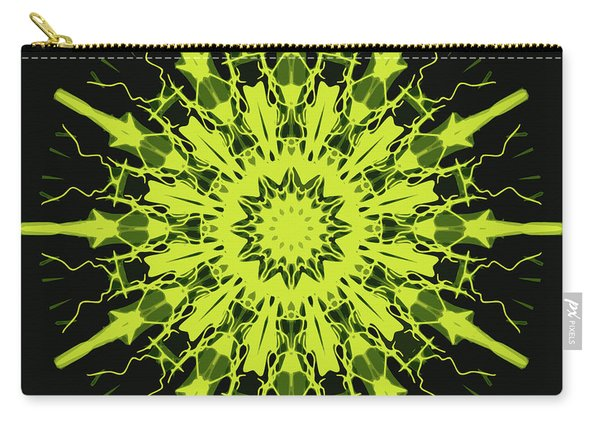 Mandala Sun Like A Night Star Carry-all Pouch