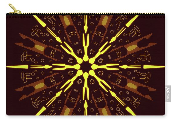 Mandala Sunset On The Beach Carry-all Pouch