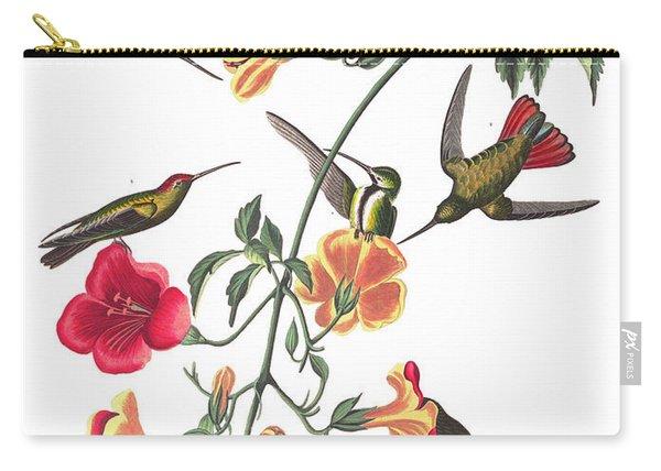 Mango Hummingbird Bird Carry-all Pouch