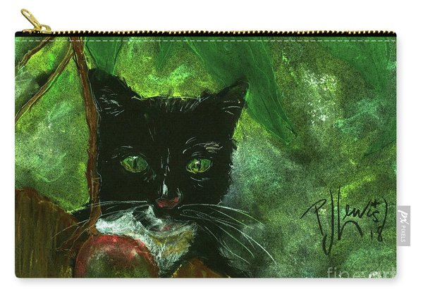 Mango Kitty Carry-all Pouch