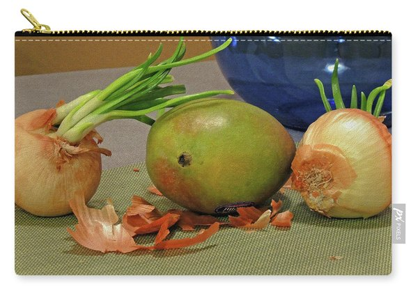 Mango With Two Onions Carry-all Pouch