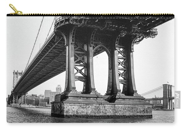 Manhattan Bridge, Afternoon Carry-all Pouch