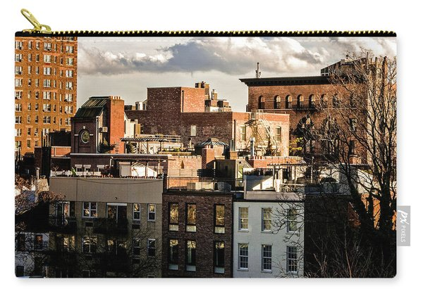 Manhattan From The Whitney Carry-all Pouch