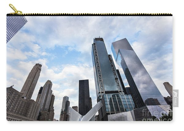 Manhattan In New York City Carry-all Pouch