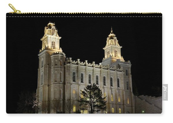 Manti Temple Night Carry-all Pouch