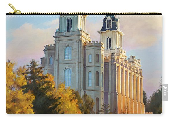 Manti Temple Tall Carry-all Pouch