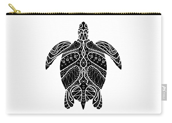 Maori Turtle Carry-all Pouch