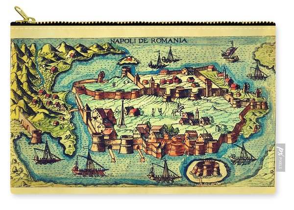 Map Seaport Carry-all Pouch