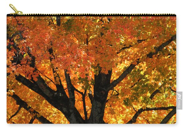 Maple Hill Maple In Autumn Carry-all Pouch