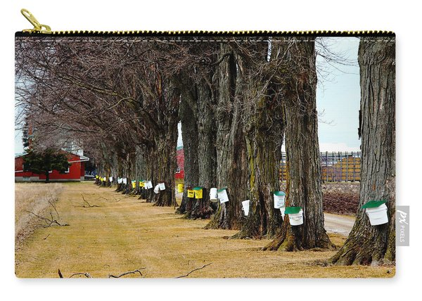 Maple Syrup Traditional Tapping Carry-all Pouch