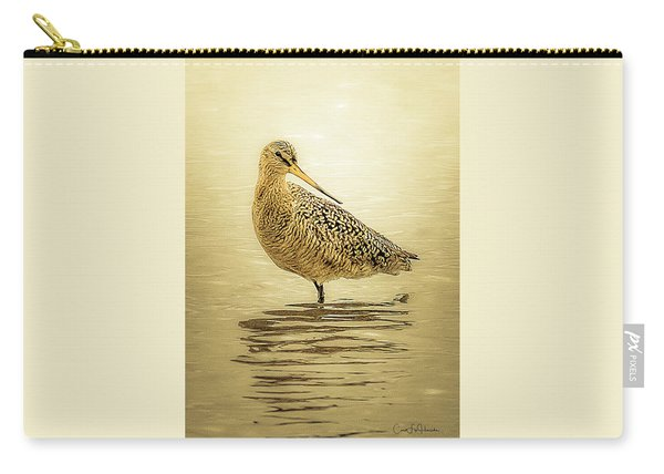 Marbled Godwit - Backward Glance Carry-all Pouch