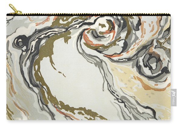 Marbled Pattern Carry-all Pouch