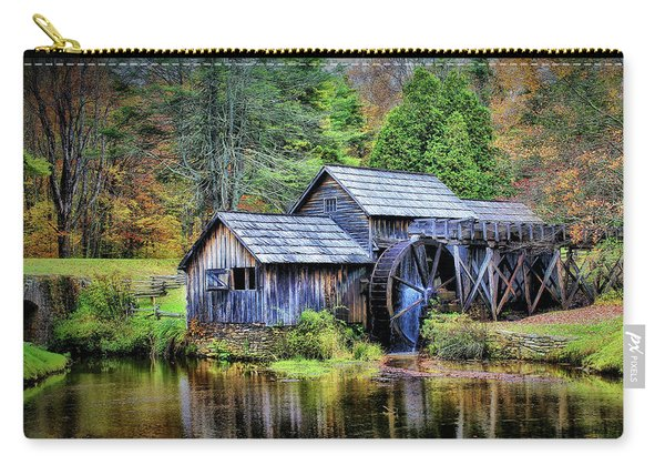 Mabry Mill A Blue Ridge Parkway Favorite Carry-all Pouch