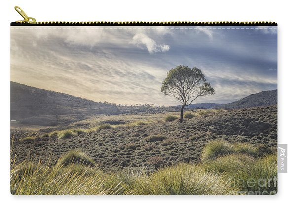 March Across The Endless Plain Carry-all Pouch