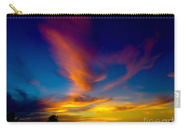 Sunset March 31, 2018 Carry-all Pouch
