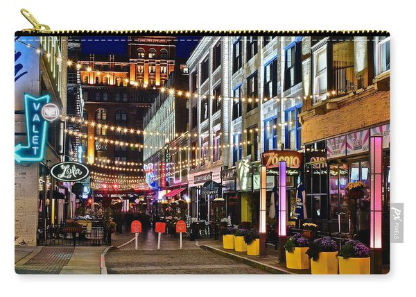 Mardi Gras In Cleveland Carry-all Pouch