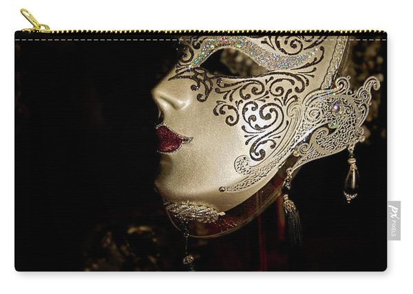 Mardi Gras Mask Carry-all Pouch