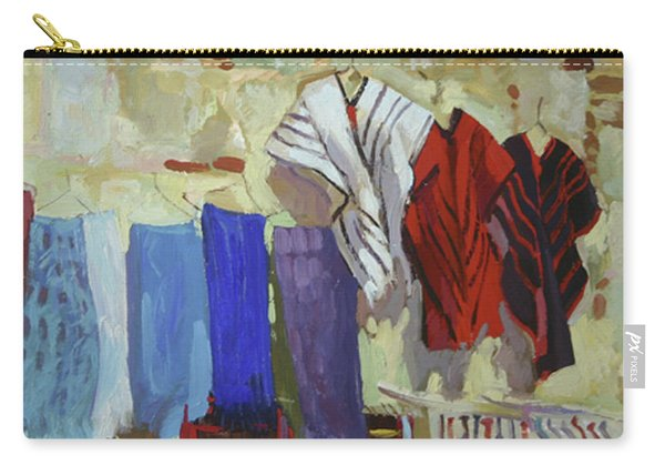 Maria Francesco's Weavings Carry-all Pouch