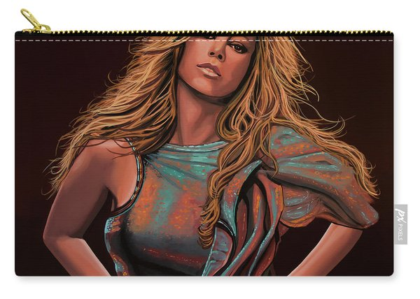 Mariah Carey Painting Carry-all Pouch