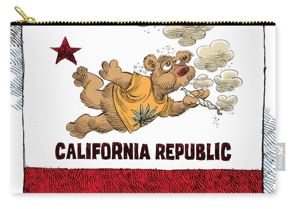 Marijuana Referendum In California Carry-all Pouch