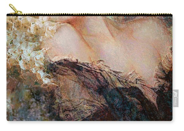 Marilyn Cherry Blossom Carry-all Pouch