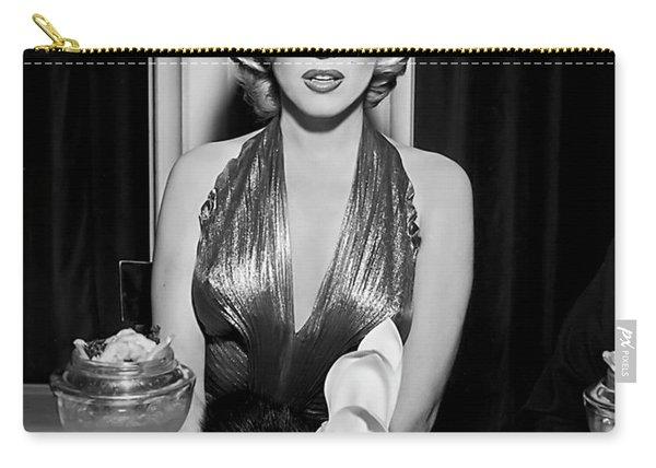 Marilyn Enjoying Dinner Carry-all Pouch