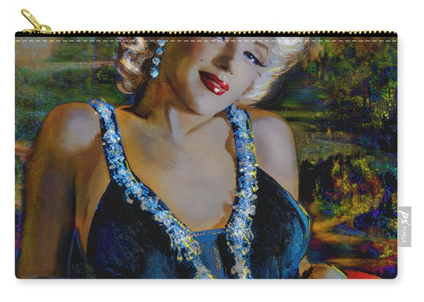 Marilyn Monroe 126 Monalisa Carry-all Pouch