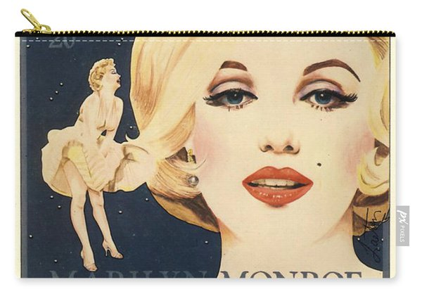 Marilyn Monroe Stamp Carry-all Pouch