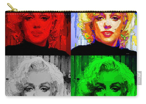Marilyn Monroe - Quad. Pop Art Carry-all Pouch