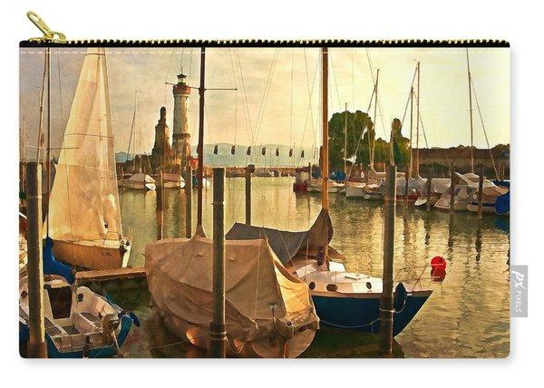 Marina At Golden Light - Digital Paint Carry-all Pouch