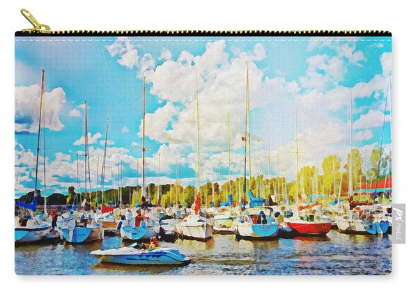 Marina In The Summertime Carry-all Pouch