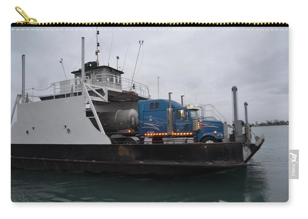 Marine City Mich Car Truck Ferry Carry-all Pouch