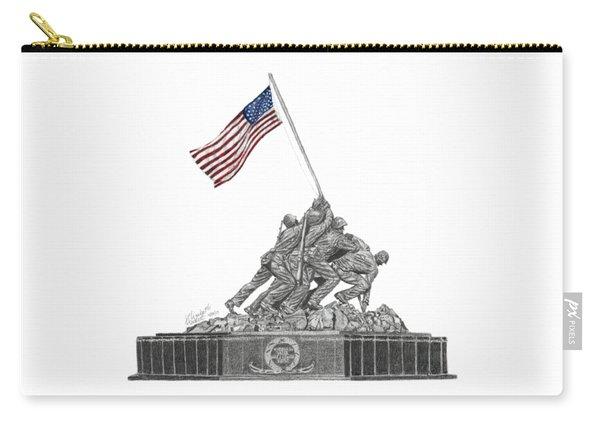 Marine Corps War Memorial - Iwo Jima Carry-all Pouch