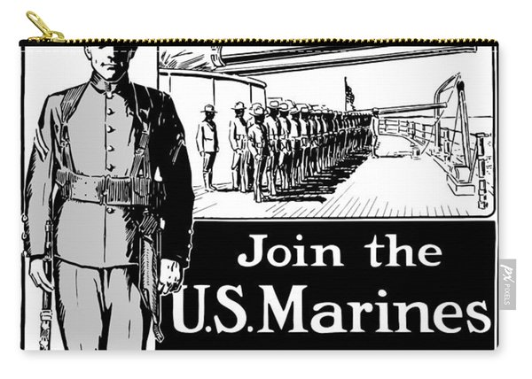 Marine Corps Week - Ww1  Carry-all Pouch