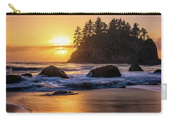 Marine Layer Sunset At Trinidad, California Carry-all Pouch