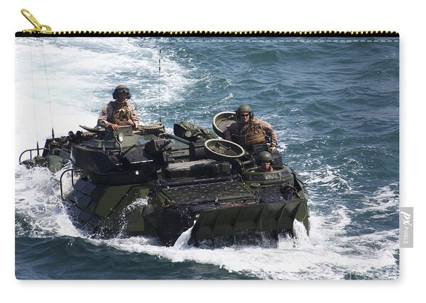 Marines Operate An Amphibious Assault Carry-all Pouch