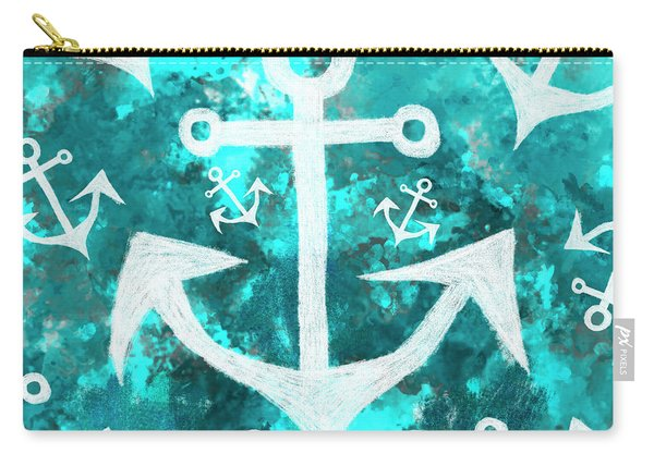 Maritime Anchor Art Carry-all Pouch