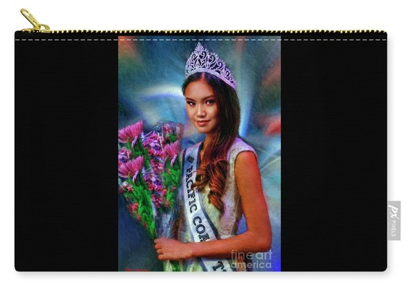 Marizza Delgado Miss Pacific Coast Teen 2016 Carry-all Pouch